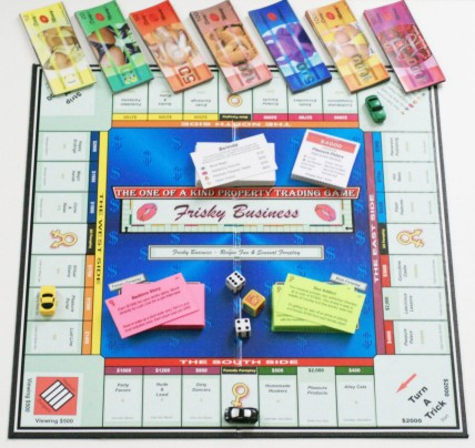 Sample Frisky Business Game